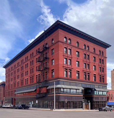 Resodyn HQ, the historic Hennessy Building
