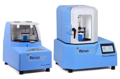 Resodyn PharmaRAM I and PharmaRAM II Acoustic Mixers