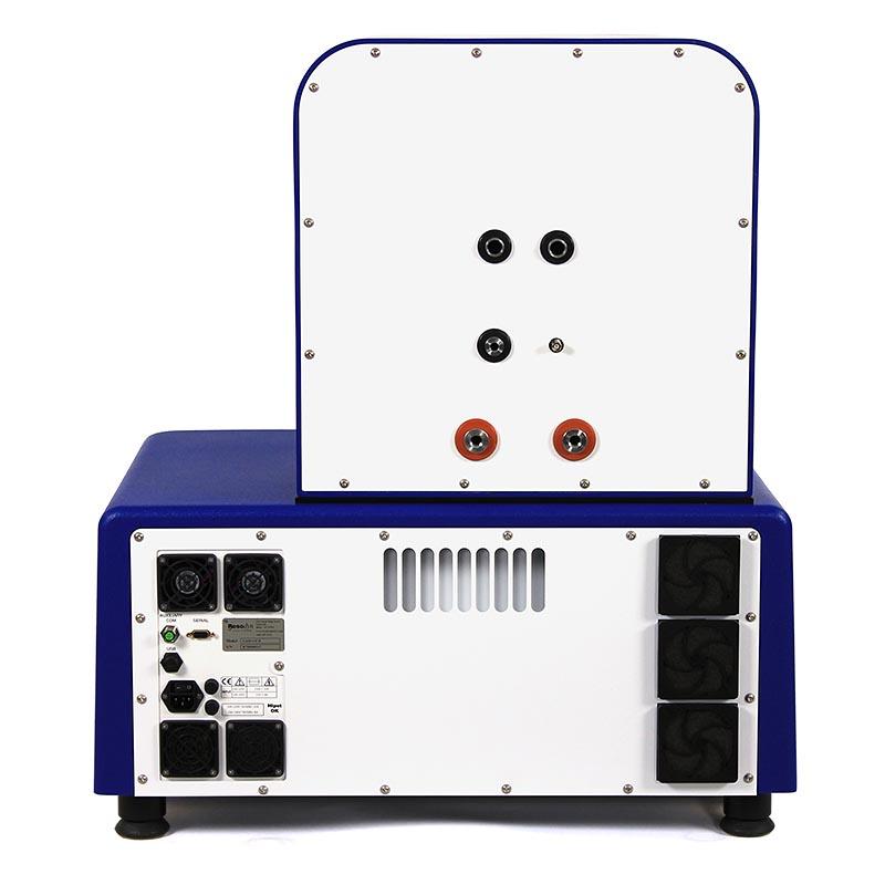 Resodyn LabRAM II Acoustic Mixer - Back Panel