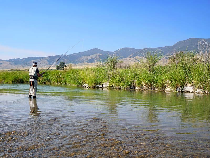 Montana's trout fishing is legendary.